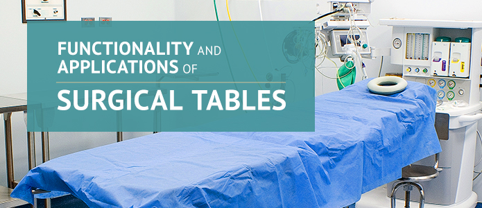 surgical tables functionality
