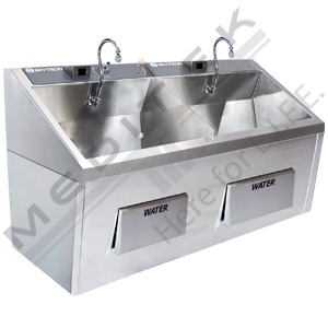 Skytron Double Bay Scrub Sink