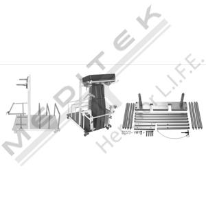 Split Leg Accessory Storage Cart Holders