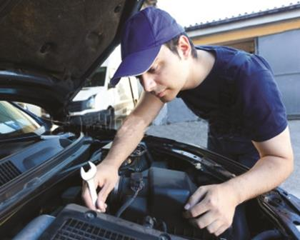 Preventive maintenance on a car