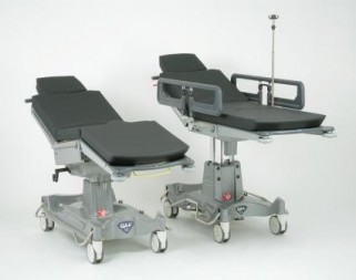 QA4 Manual and Powered Day Surgery Stretchers 1 321x253 QA4 Day Surgery Stretchers