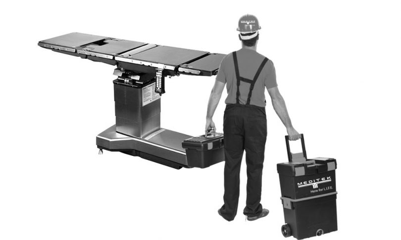 Servicing Surgical Tables