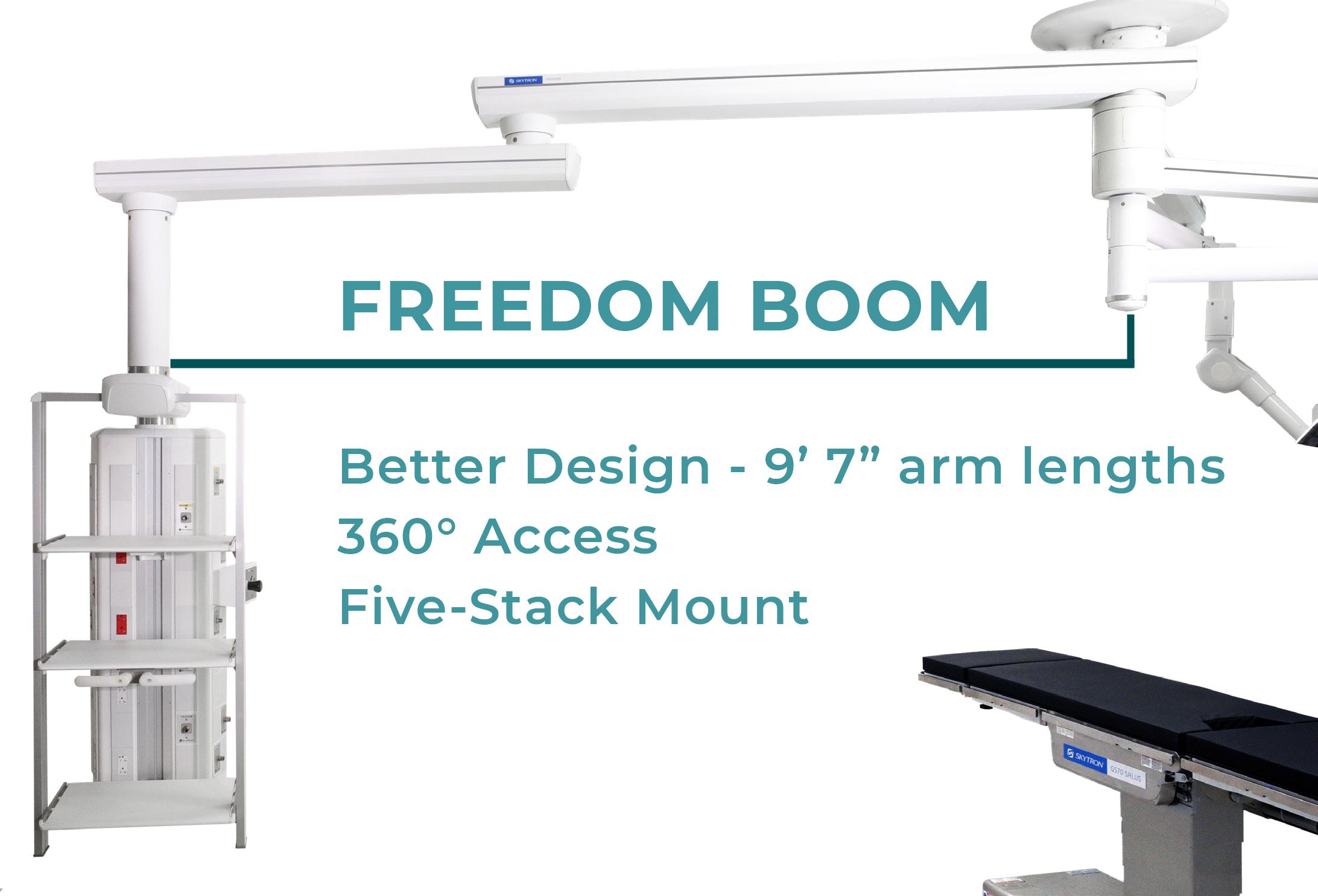 Skytron Freedom Medical Boom