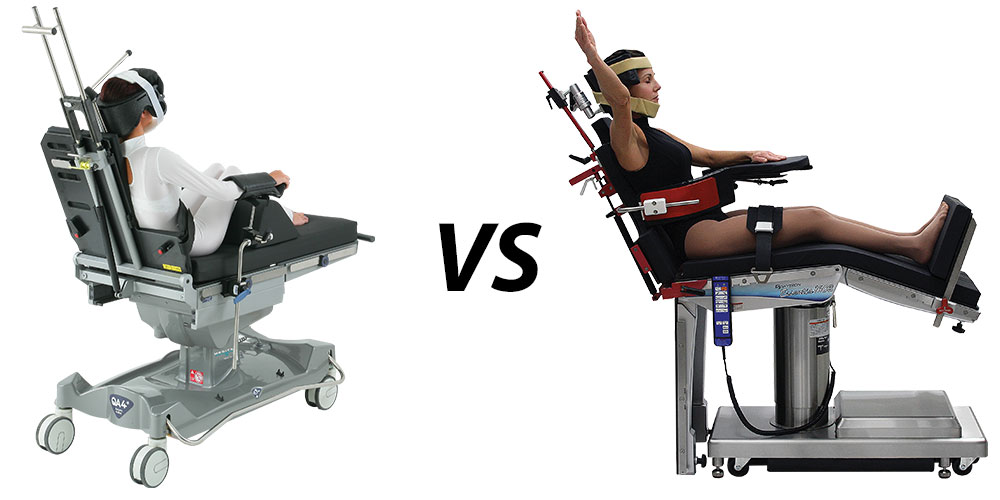 day surgery stretcher vs surgical table