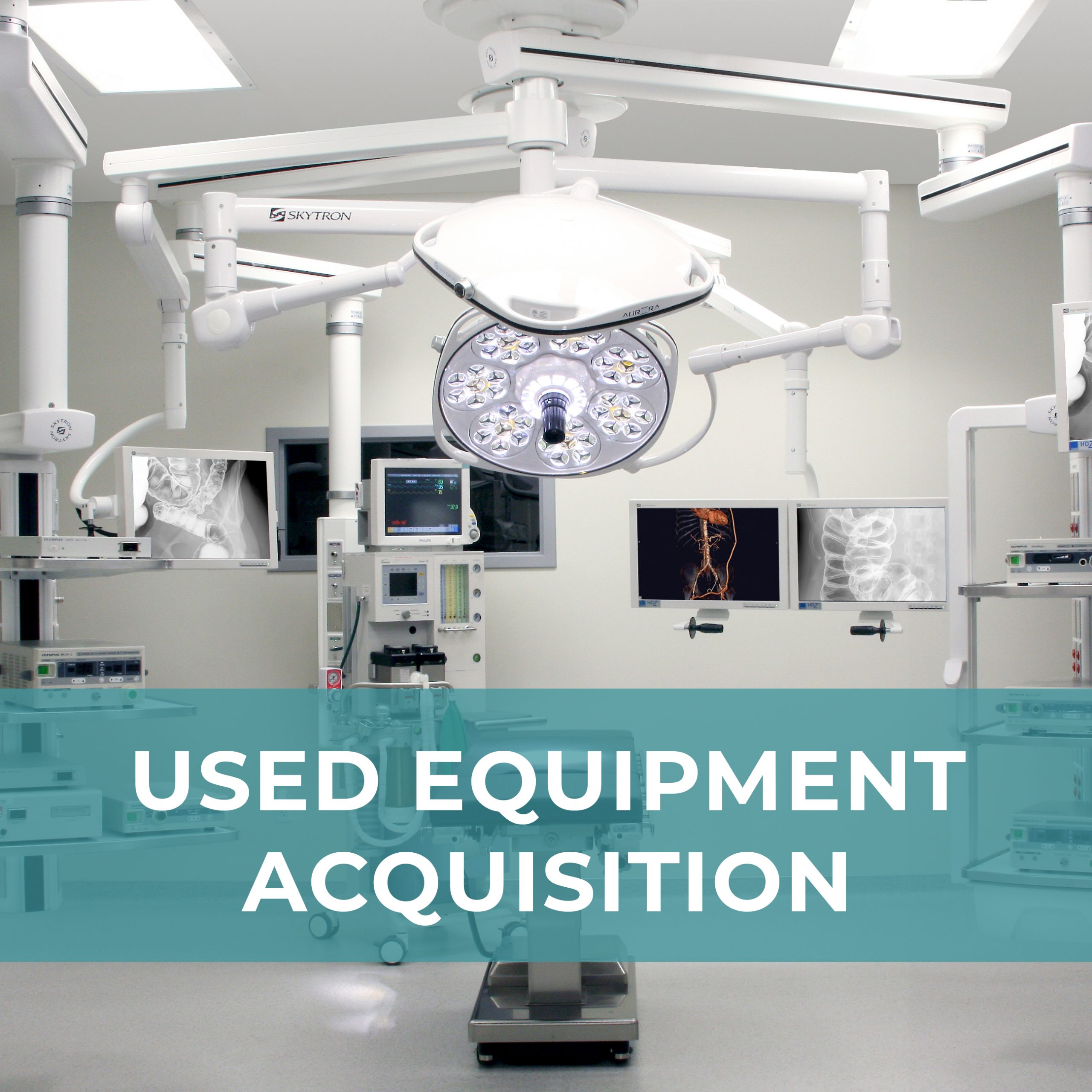 Used Equipment Acquisition