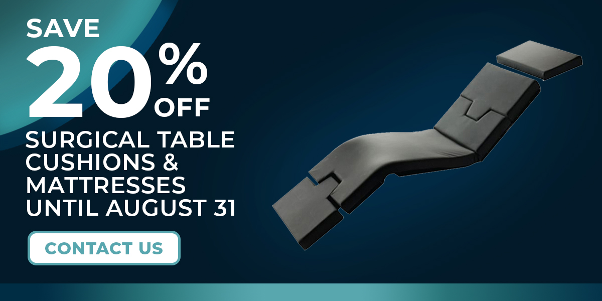 Surgical Table Cushions - 20% OFF