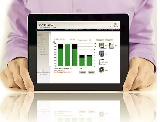 clearView linen management software