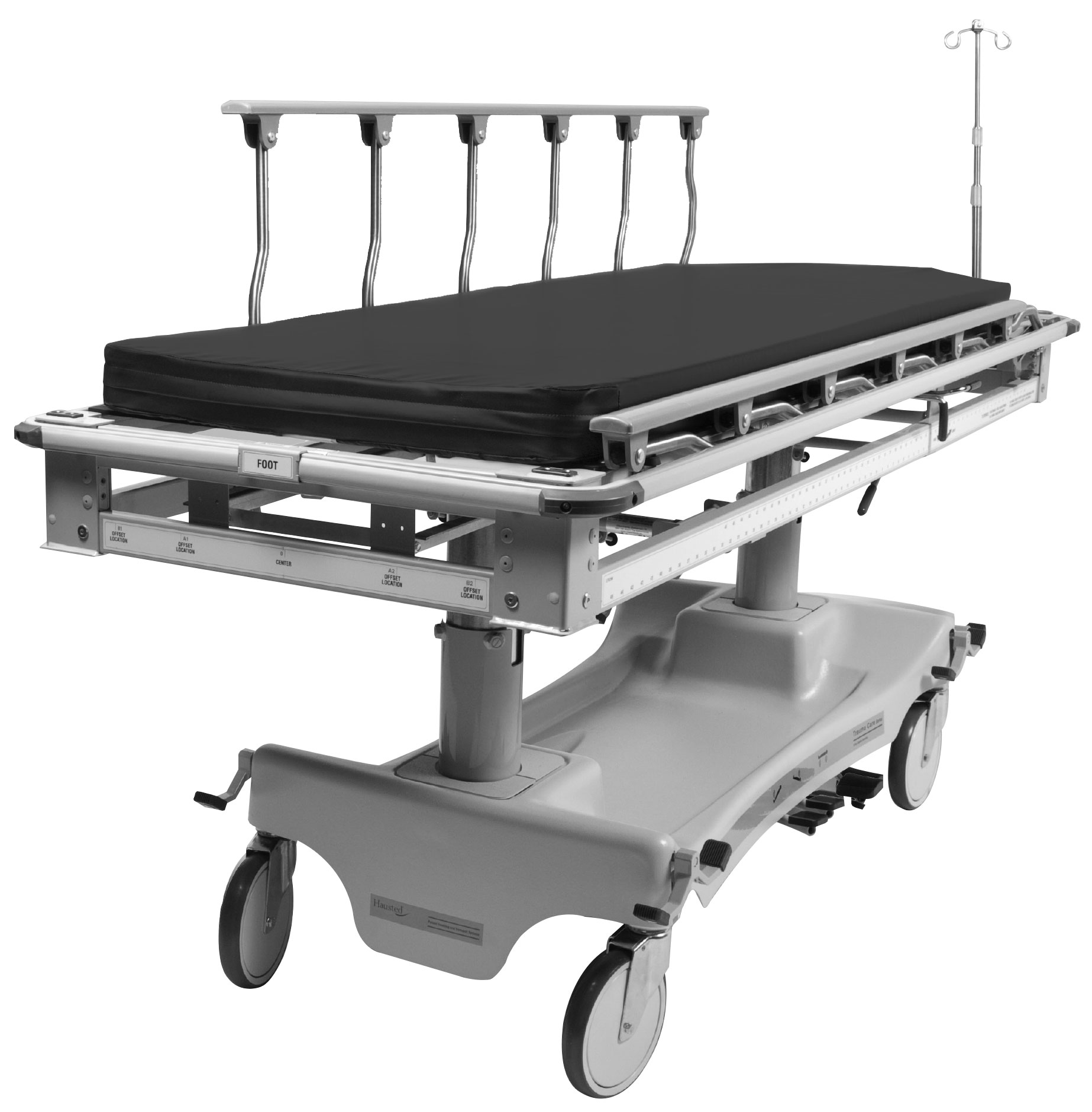 Hausted trauma stretcher