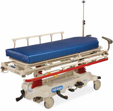 Hill-Rom trauma stretcher